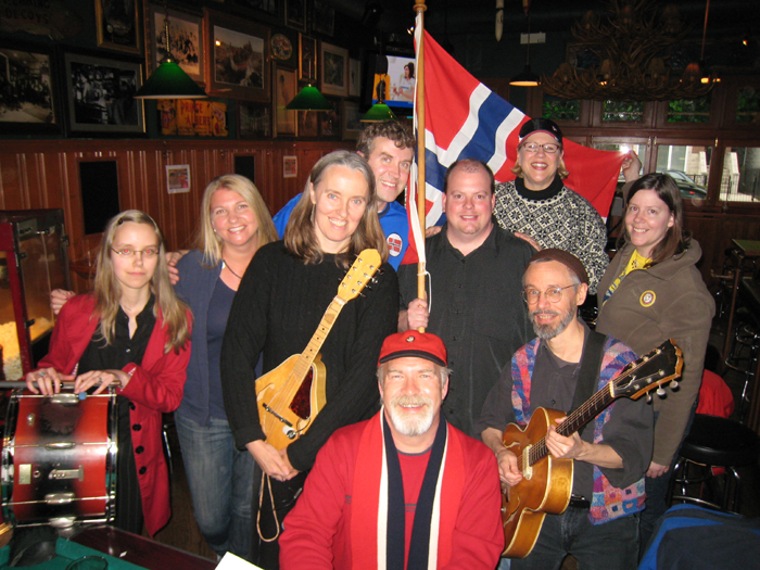 Image of Hi-Dukes at a Norwegian Independence Day celebration.