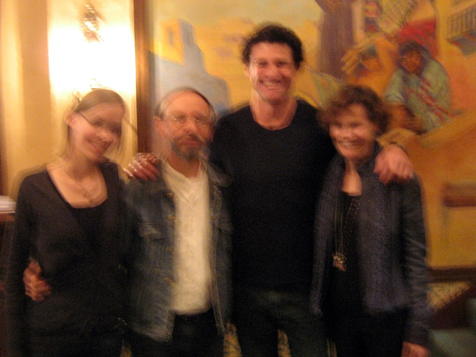Image of Zoï Doehrer and Terran Doehrer with Larry Blume and Judy Blume at the Santa Fe Independent Film Festival, Oct. 2012. © 2012 Modal Music, Inc. (tm) All rights reserved.