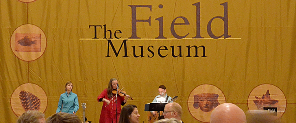 Photo of Nordland Band  (tm) at a Field Museum of Chicago exhibit opening