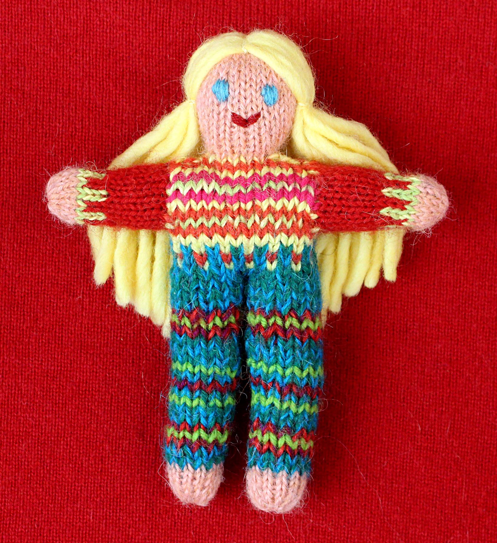 Wee Woolie doll #D0226.