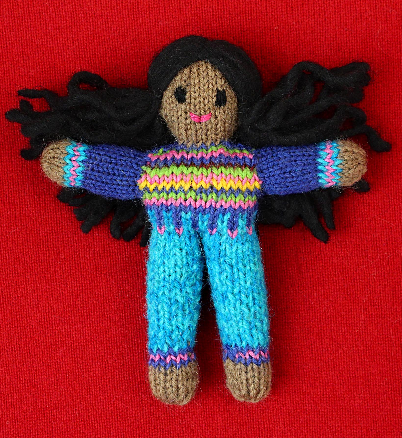 Wee Woolie doll #D0220.