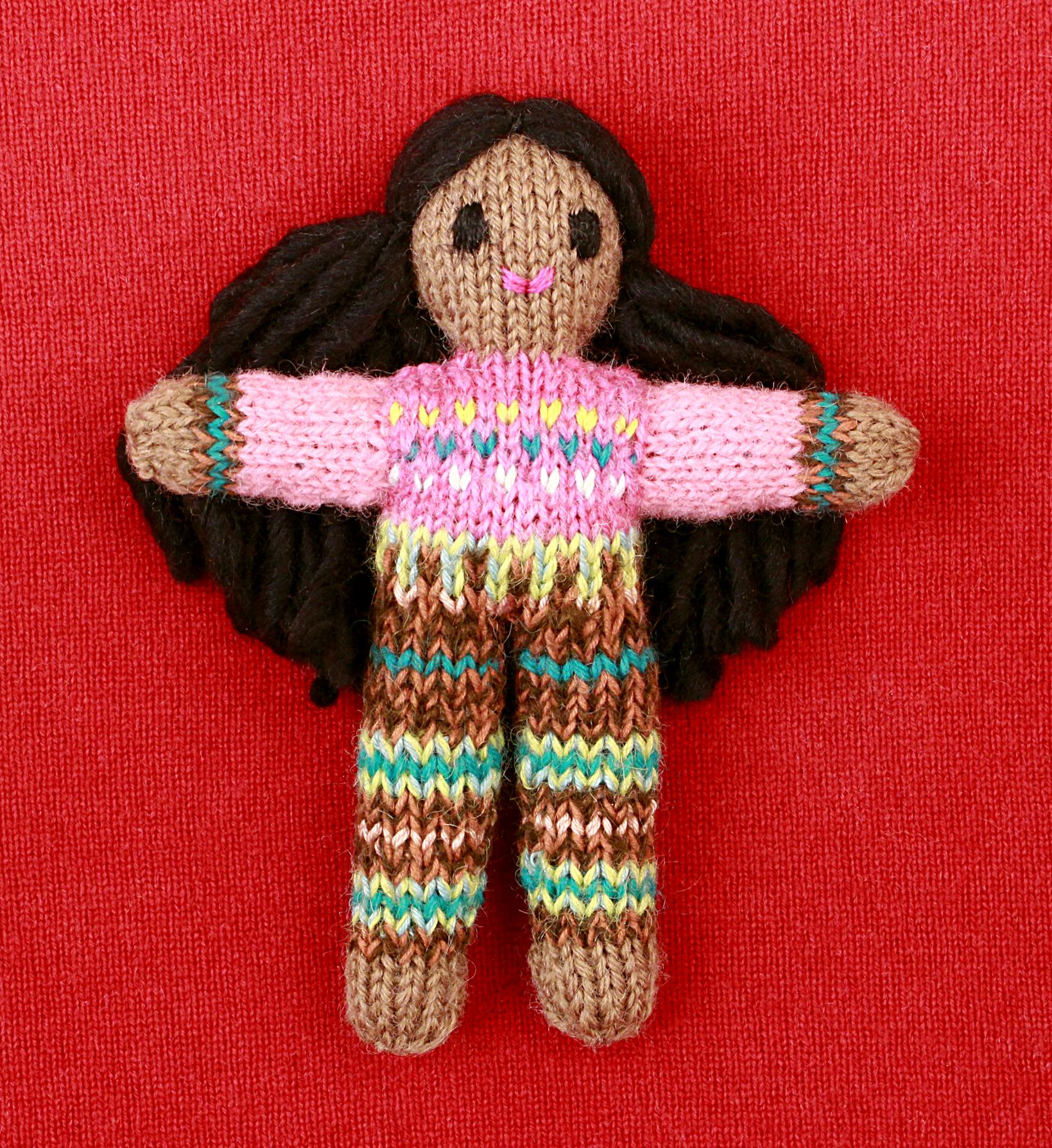Wee Woolie doll #D0095.