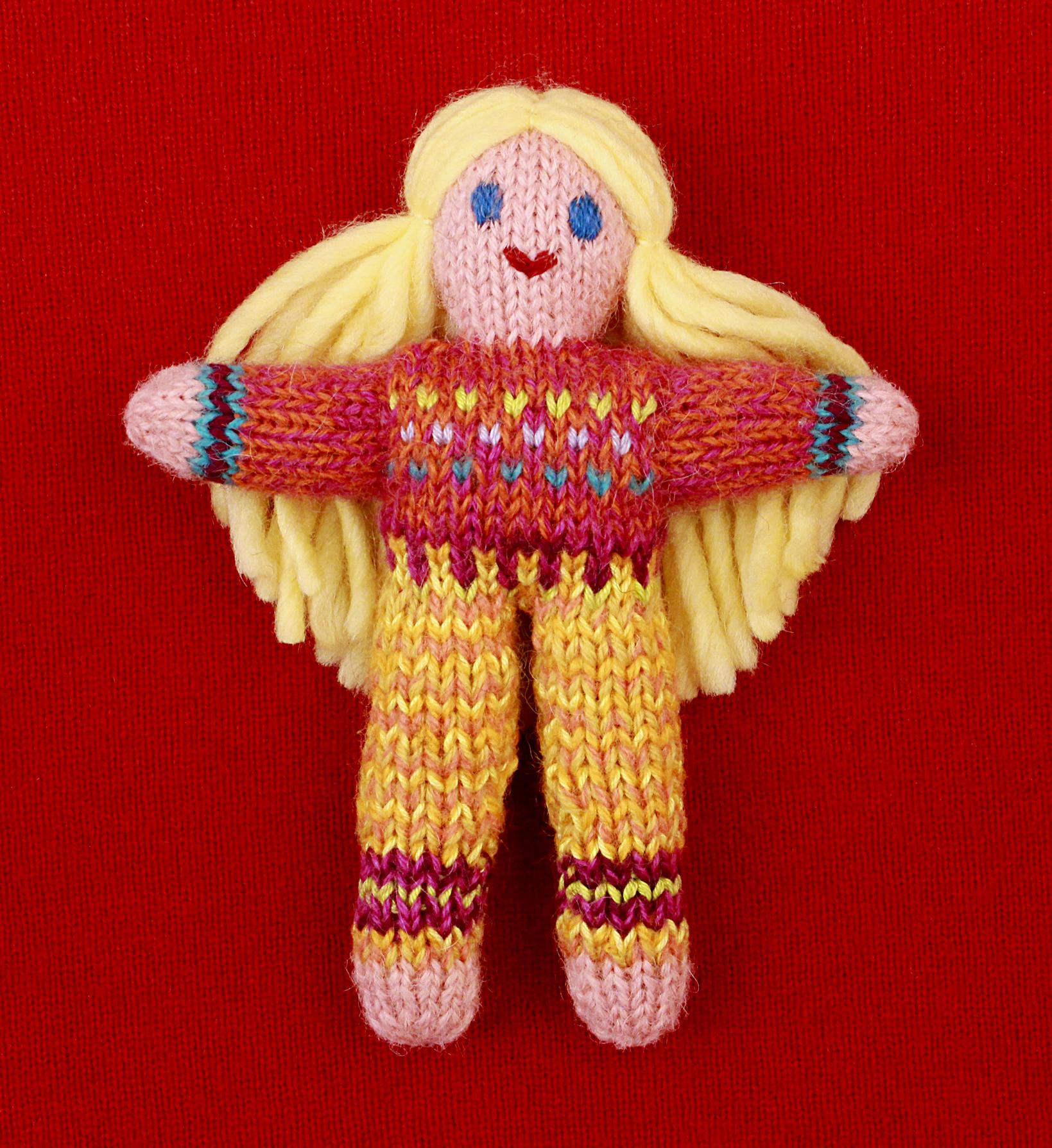 Wee Woolie doll #D0231.