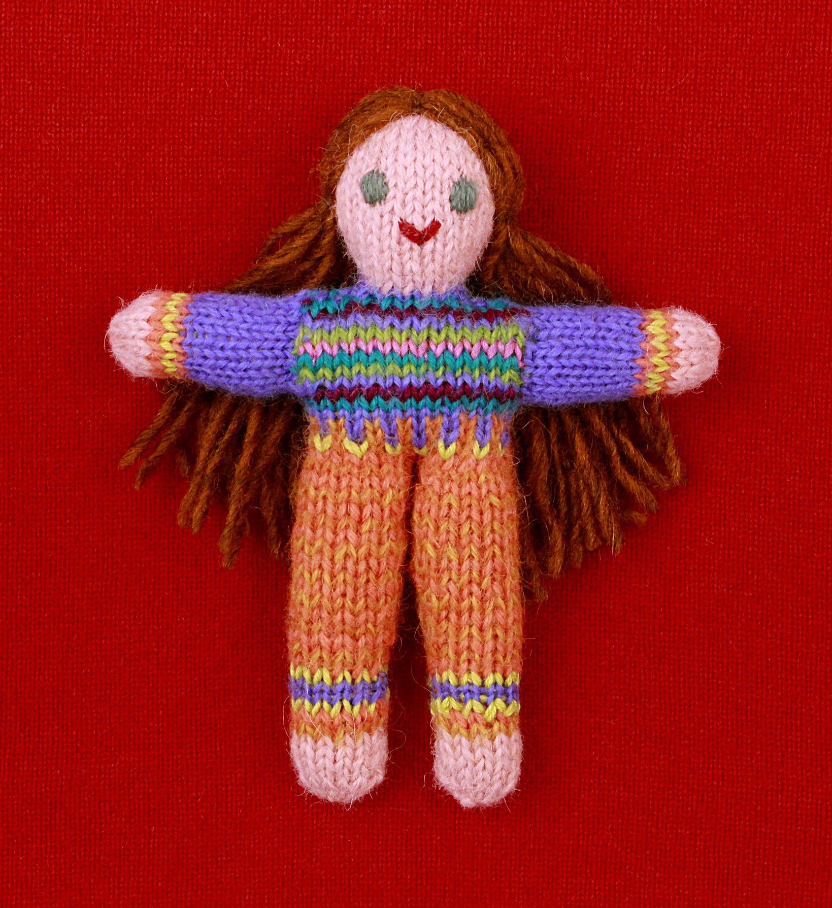 Wee Woolie doll #D0232.