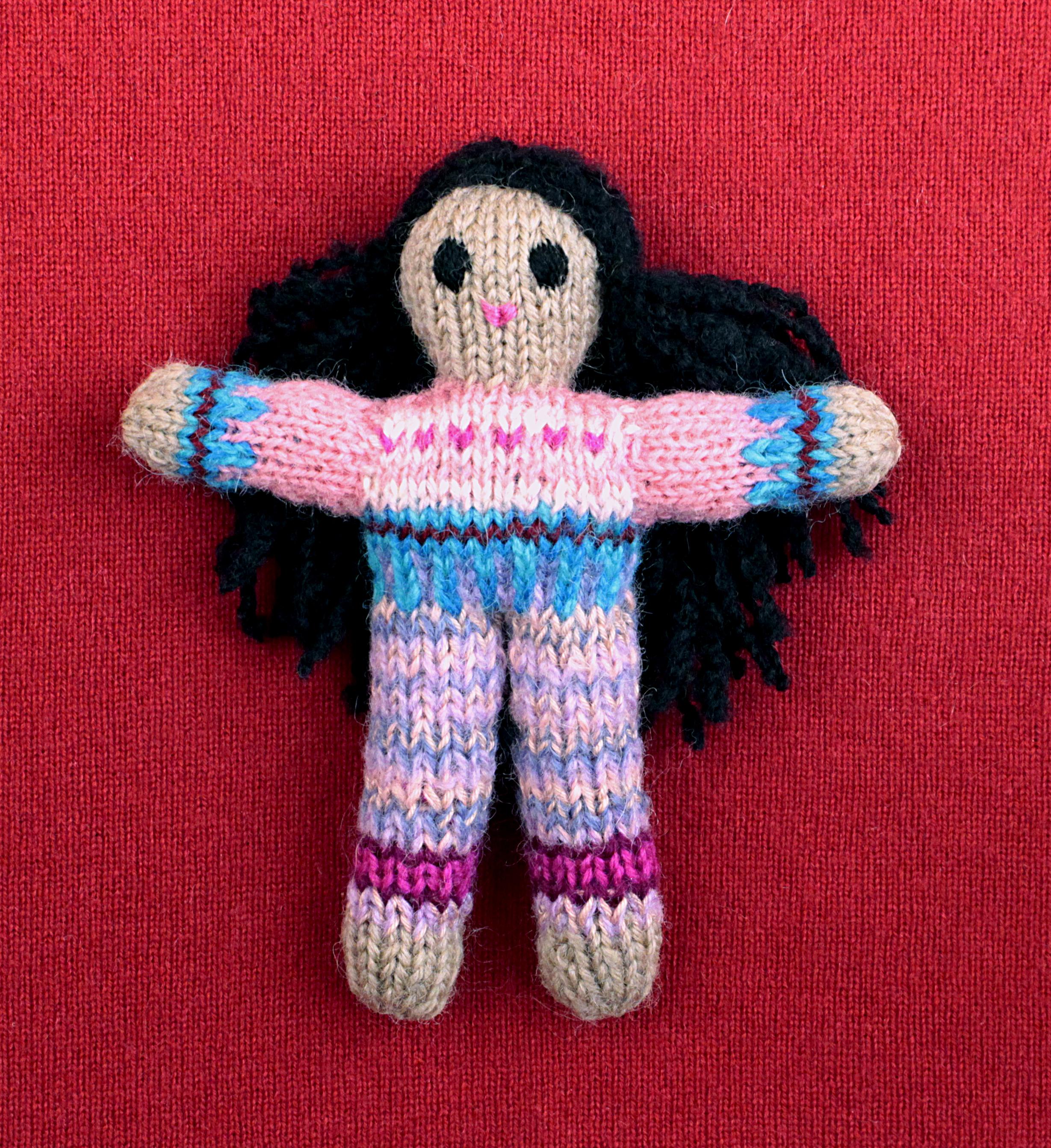 Wee Woolie doll #D0225.