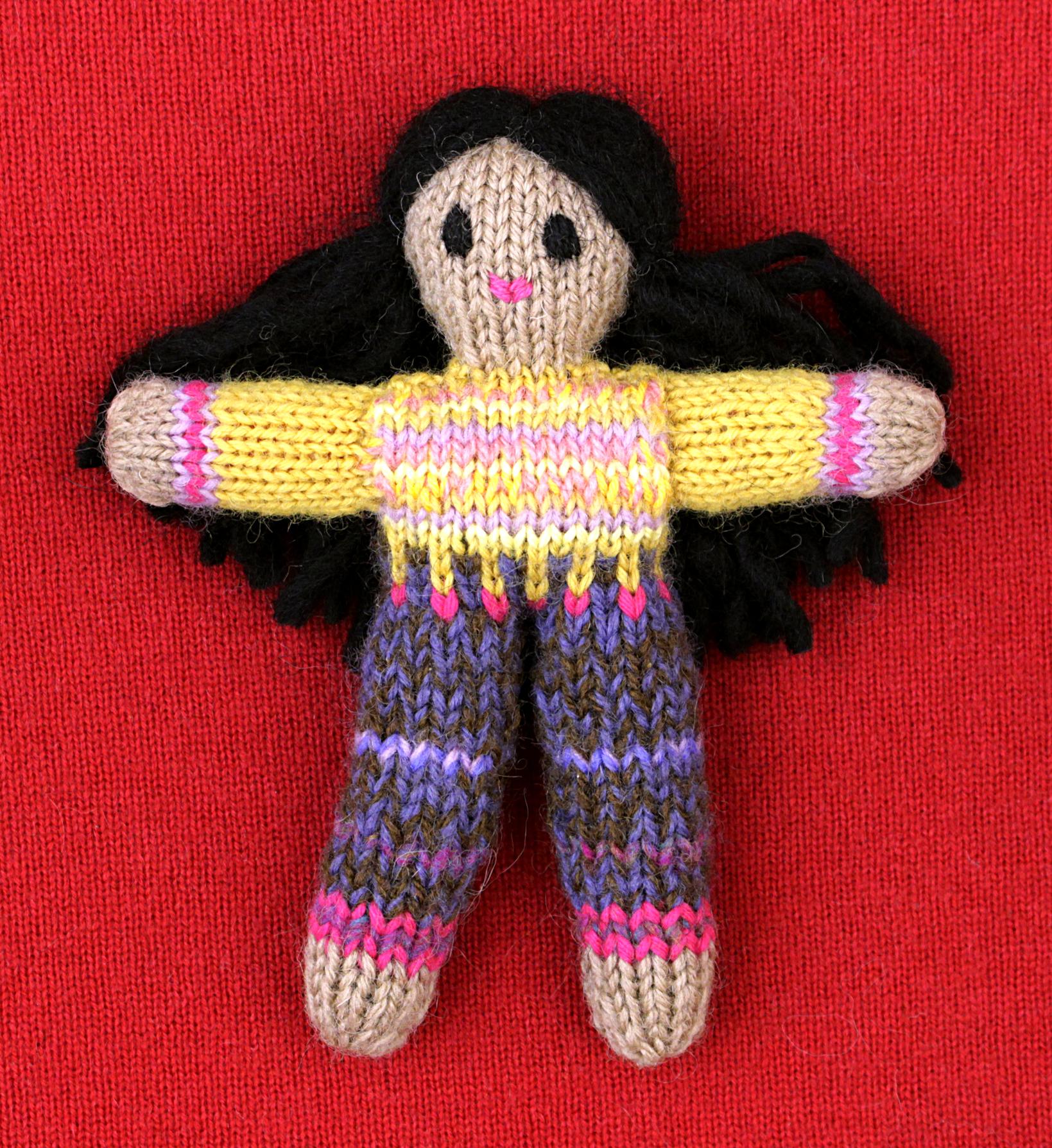 Wee Woolie doll #D0218.